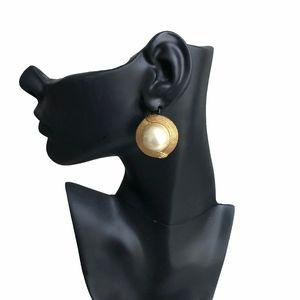 Vintage Ciner Earrings Faux Pearl Clip On